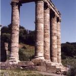 Antas - Fluminimaggiore (CA). Scorcio del tempio di età romana del Sardus Pater (III sec. a.C.).