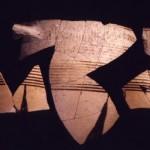 S. Imbenia - Alghero (SS). Framm. di ceramica Protocorinzia (VII sec. a.C.).