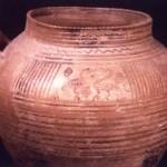 Sulki - S. Antioco (CA). Olla stamnoide di produzione euboica (fine VIII sec. a.C.).