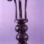 S'Urachi - S. Vero Milis (OR). Torciere bronzeo di tipo cipriota (fine VIII - inizi VII sec. a.C.).