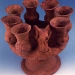 Bithia. Torre di Chia (CA). Candelabro rituale fenicio (VII sec. a.C.)