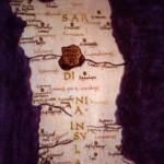 Carta della Sardegna di Tolomeo.