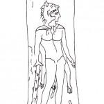 Rasoio punico con raffigurazione di Melkart