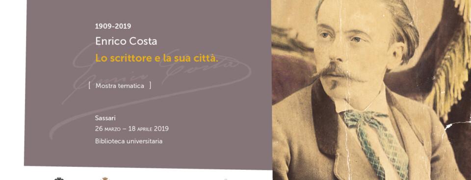 Enrico Costa (1909-2019). Lo scrittore e la sua città